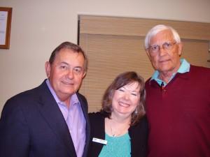 Les Taylor, Ed Hammond, Linda-Ann Stewart