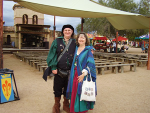 Jeff & Linda-Ann at 2014 Arizona Renaissance Festival