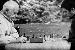 Concentrating on Chess Game