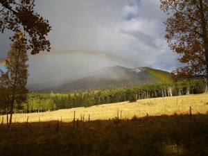 Rainbow at Snowbowl