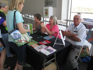 Book Signing Table at 2016 Hummingbird Festival