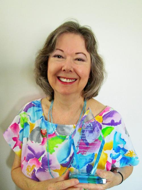 Linda-Ann Stewart- National Speakers Association-Arizona Chapter 2021 Member of the Year
